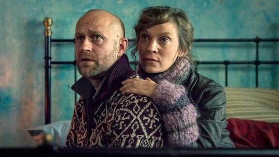 Gobi (li, Jürgen Vogel) und Mimi Kalkbrenner (re, Jeanette Hain).
