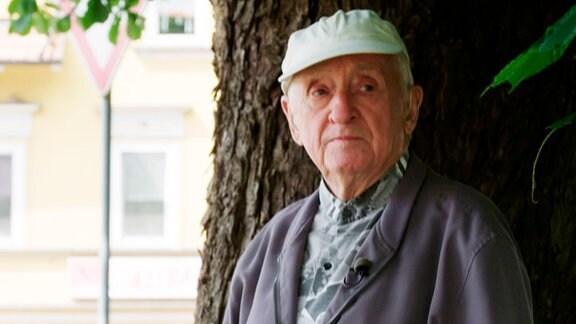 Fritz Stubenrauch, Zeitzeuge, Themar