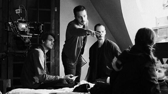 """Der MDR fördert mit der Initiative """"Kurzkino"""" Studierende der Filmuniversität Babelsberg Konrad Wolf."""