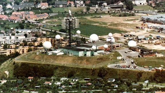 Die Abhörstation der NSA in Berlin Marienfelde