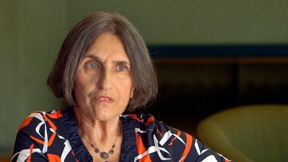 Ellen Brombacher, Sprecherin der KPF Kommunistische Plattform