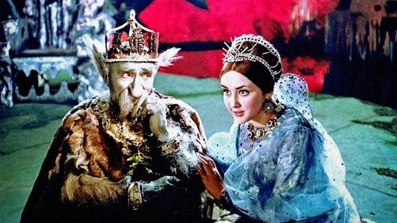 Warwara mit ihrem Vater