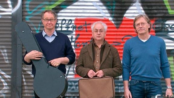 Zum Zwingertrio gehören seit 35 Jahren Peter Kube, Tom Pauls und Jürgen Haase (von links nach rechts)