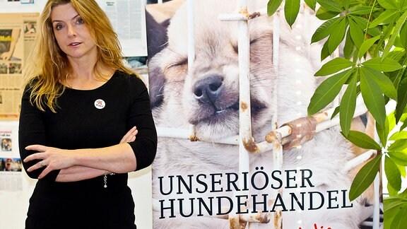 Tierschützerin Birgitt Tiesmann von 4 Pfoten