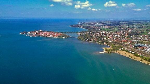 Lindau – Inseln und Ufer sind magische Anziehungspunkte am Bodensee.
