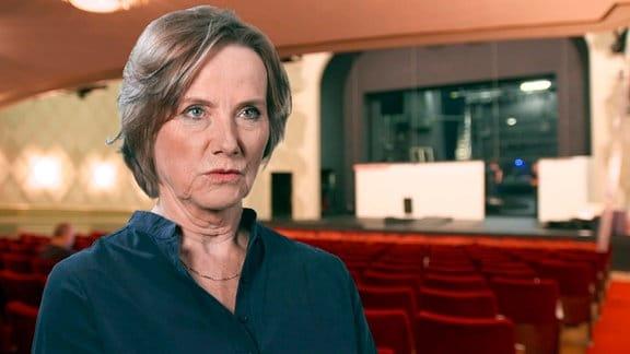 Ruth Reinecke war 1990 Schauspielerin im Ensemble des Berliner Gorki-Theaters.