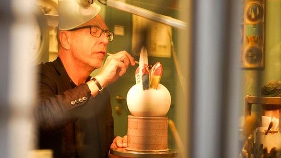 In der Keramikstube von Gerd Krambehr