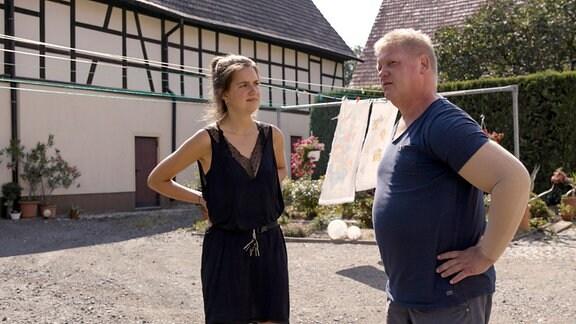 Ruth und Jens in Pödelwitz