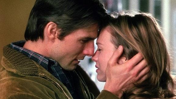 Jerry Maguire (Tom Cruise) und Dorothy Boyd (Renée Zellwegger) ringen mit ihren Gefühlen