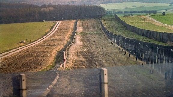 Innerdeutsche Grenze 1988