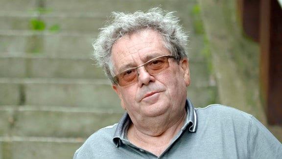 Porträt Peter Ziegler, Geschäftsführer Hafen Aken
