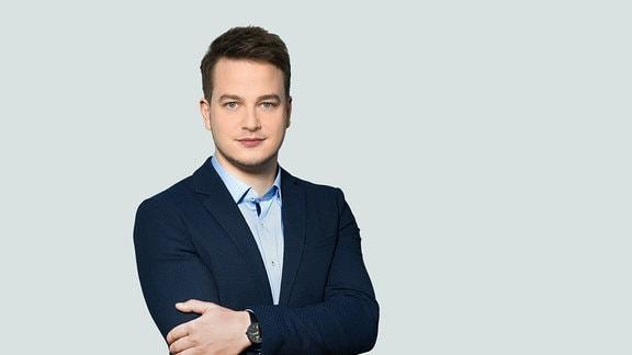 Moderator Felix Seibert-Daiker im Porträt