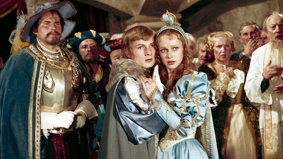 Hans-Joachim Frank (Jakob) und Katrin Martin (Prinzessin)