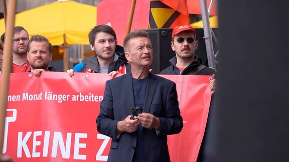 Bernd Kruppa, Gewerkschaftssektretär der IG-Metall