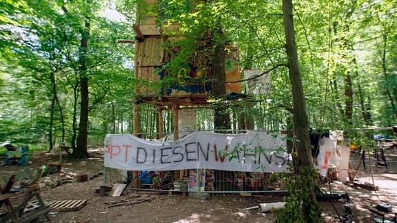 Protestcamp im Hambacher Forst