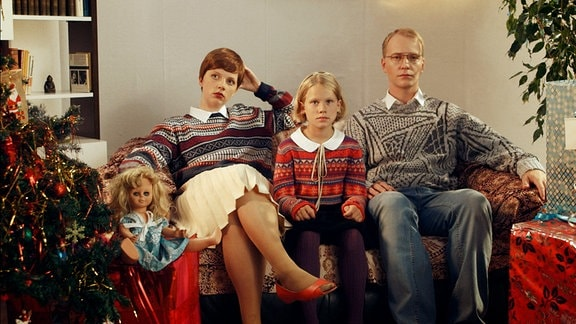 Weihnachten (Ania Pachura, li. und Carsten Stier)