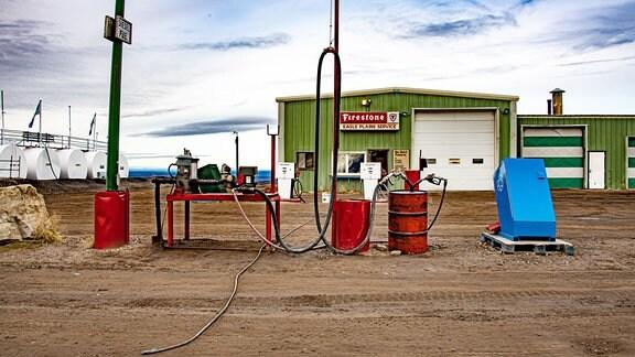 Die Station Eagle Plains ist am legendären Dempster Highway im hohen Norden Kanadas die einzige Versorgungsstation auf einer Länge von 530 Kilometer.