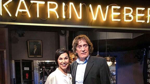 Katrin Weber und Winfried Glatzeder