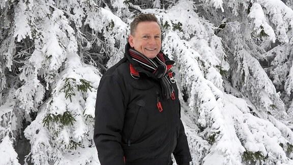 Moderator Axel Bulthaupt im Weihnachtsland