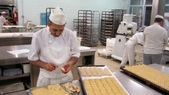 Im spanischen Toledo wird das landestypische Marzipan hergestellt.