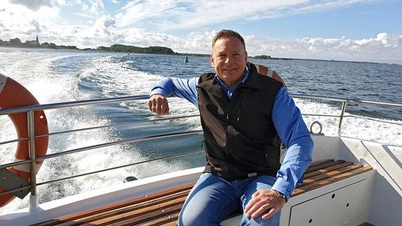 """Axel Bulthaupt begibt sich in einer neuen Folge seiner Sendereihe """"Sagenhaft"""" auf eine Reise über die Insel Hiddensee."""