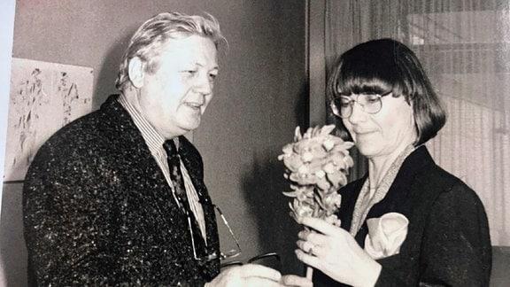 Ulla Steffke mit Artur Winter