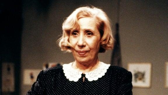 Agnes Kraus in der Rolle der Mathilde