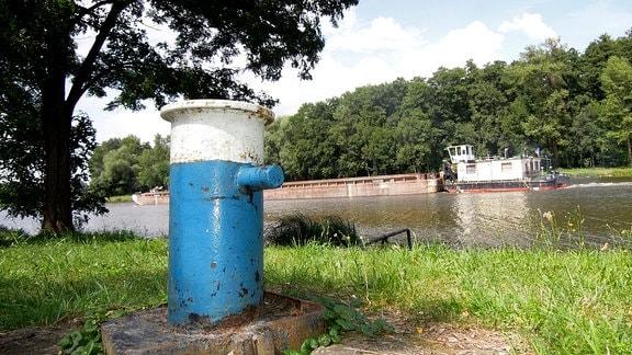 Elbe in bzw. bei Mělník (Melnik)
