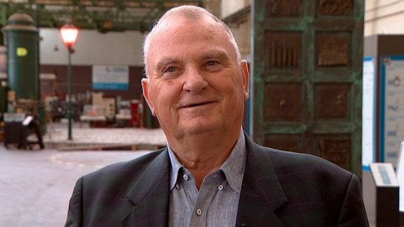 Gerhard Unger, ehemals Ingenieur beim SKET, später langjähriger Leiter des Technikmuseums Magdeburg.