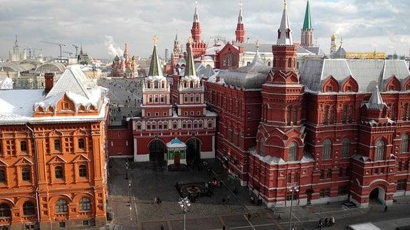 Auferstehungtor am Roten Platz