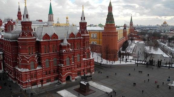 Blick auf das Historische Museum