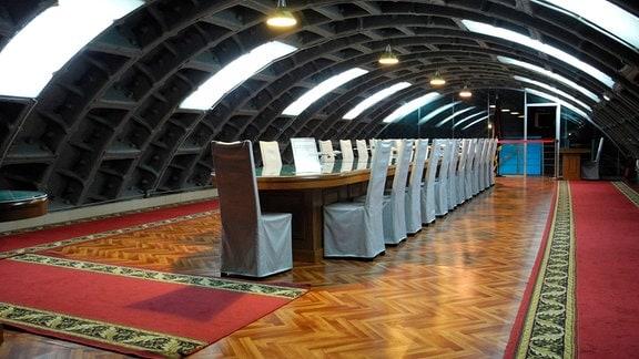 Der ehemalige Bunker 42, heute ein Museum