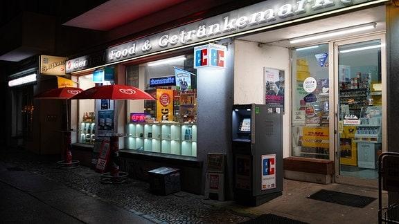 Spätshop in Berlin mit EC-Automat
