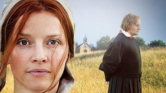 Katharina von Bora (Karoline Schuch) und Martin Luther (Devid Striesow)