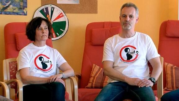 Heike und René Thiemann haben eine Selbsthilfegruppe für Angehörige von FASD-Kranken gegründet.