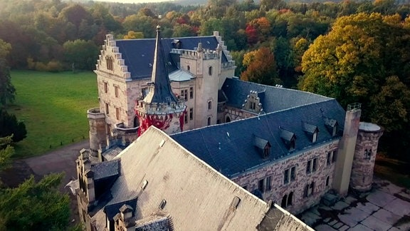 Schloss Reinhardsbrunn in Thüringen.