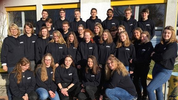 Die Schüler des Sophie-Scholl-Gymnasiums Gardelegen haben eine AG Stolpersteine gegründet.