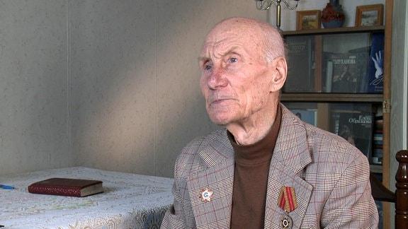 Lev Netto geriet bei einem Partisaneneinsatz in Estland in deutsche Gefangenschaft.