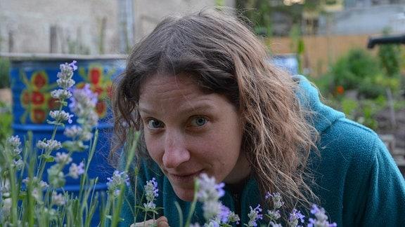 Judit Fleischer ist seit vier Jahren mit ihrer Familie im Leonardo-Garten Mitglied.