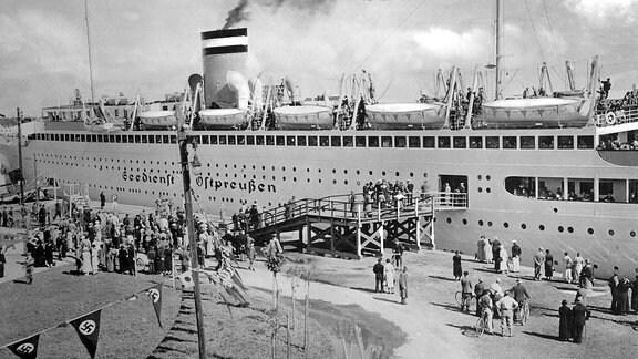 """Das Schiff """"Seedienst Ostpreußen"""""""