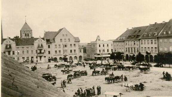 Eine preußische Stadt in den 20er Jahren des letzten Jahrhunderts.