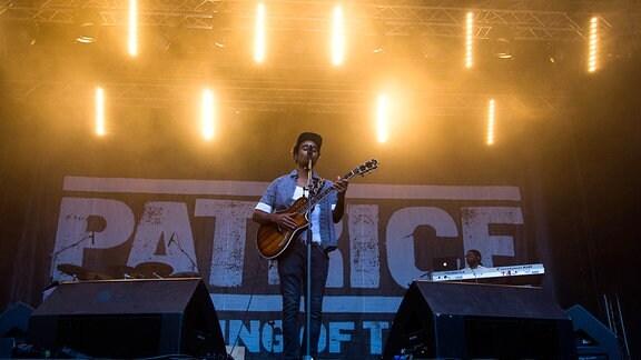 Patrice im Konzert vom TFF Rudolstadt 2015