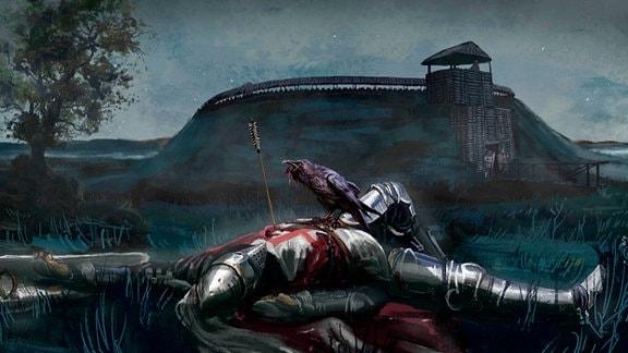 Ringburgen waren zwischen Elbe und Oder die letzten Zufluchtsstätten der Slawen gegen fränkische Ritter, die das Land im frühen Mittelalter unter ihre Kontrolle bringen wollten.