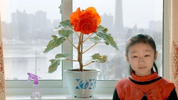 Die achtjährige Sin Mi ist die Heldin des Filmes.