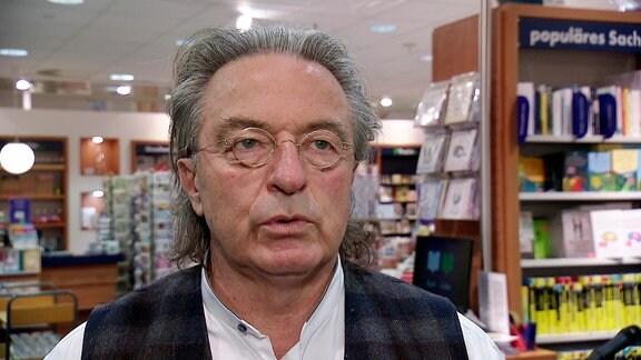 Peter Michael Diestel, Rechtsanwalt und erster frei gewählter DDR-Innenminister, im November 2019 in Schwerin.