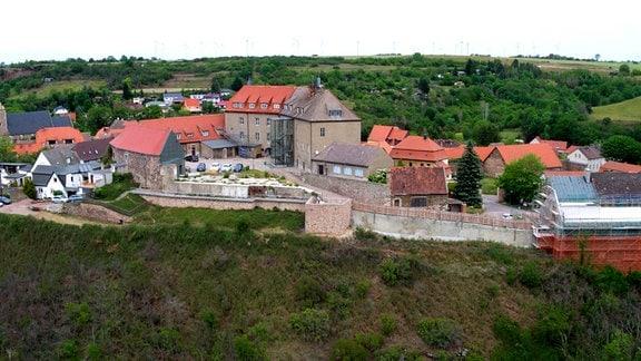 Oberburg Wettin - ehemalige Schäferschule der DDR.