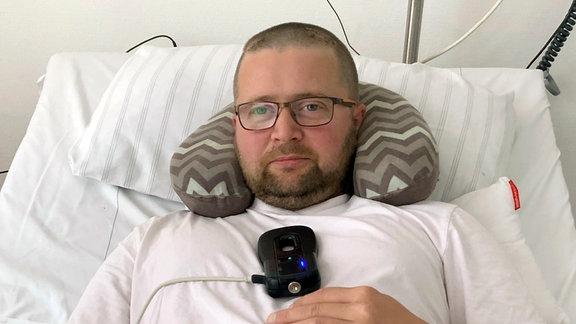 Dominik Key ist an Parkinson erkrankt.