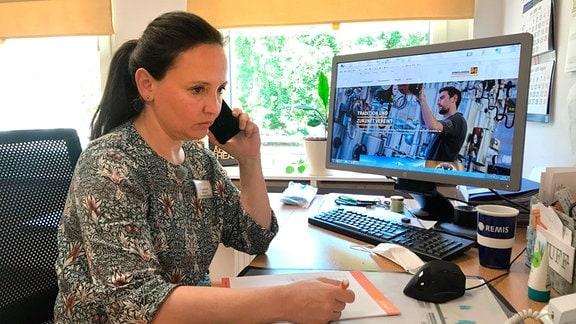 Angela Zinke, Leiterin Pflegeheim Avendi Waldsiedlung Dessau