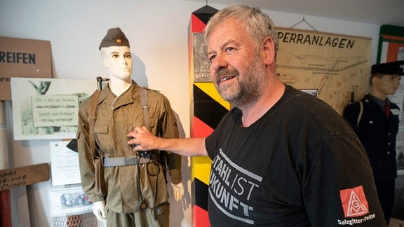 Andreas Weihe leitet das Heimatmuseum in Abbenrode.