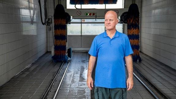 Mirko Busch betreibt heute eine Autowaschanlage in Niedersachsen.